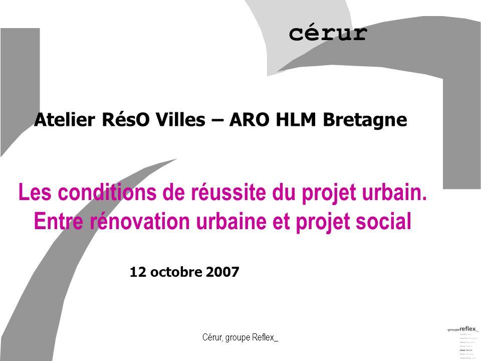 Atelier RésO Villes – ARO HLM Bretagne