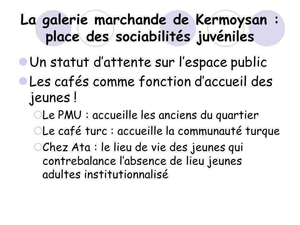 La galerie marchande de Kermoysan : place des sociabilités juvéniles