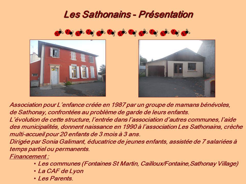 Les Sathonains - Présentation