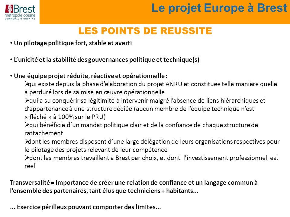 Le projet Europe à Brest
