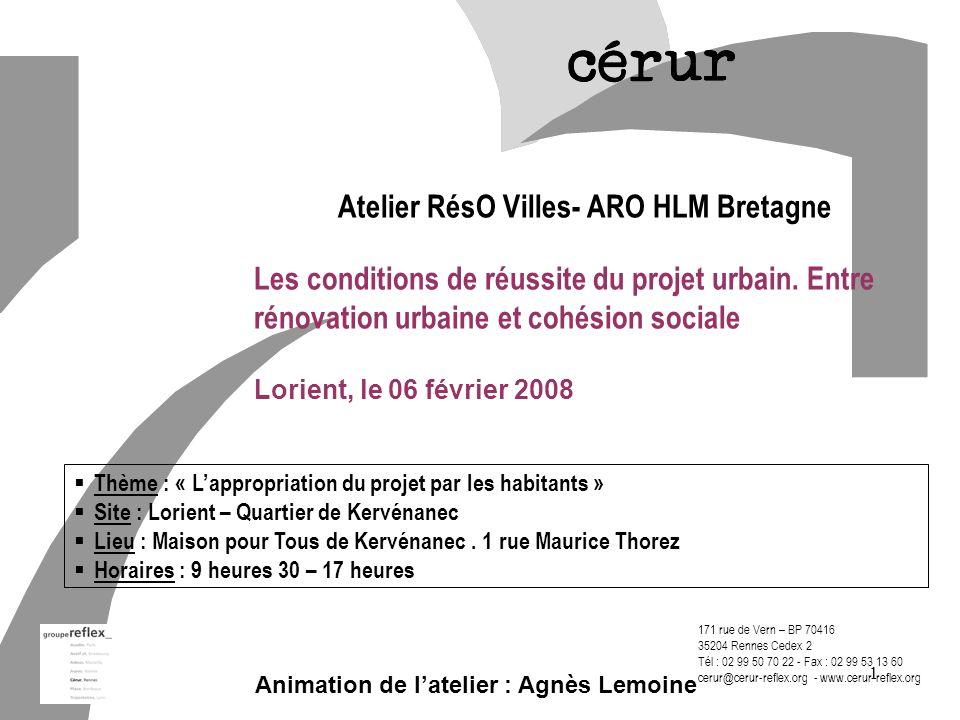 Animation de l'atelier : Agnès Lemoine