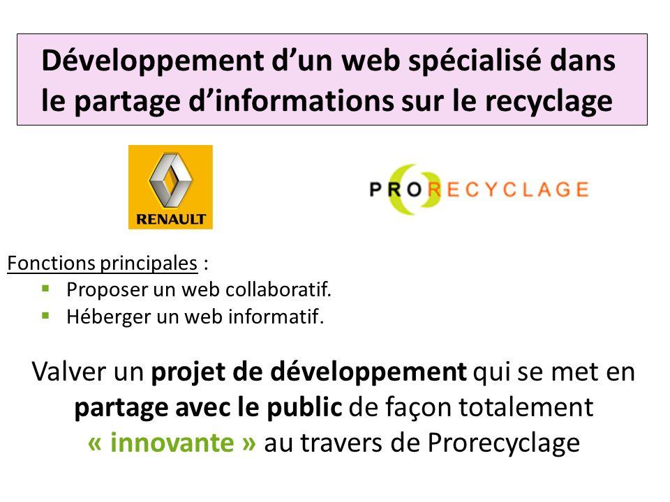 Développement d'un web spécialisé dans