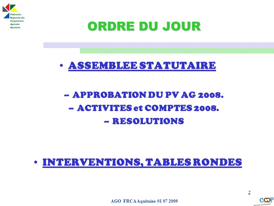 INTERVENTIONS, TABLES RONDES