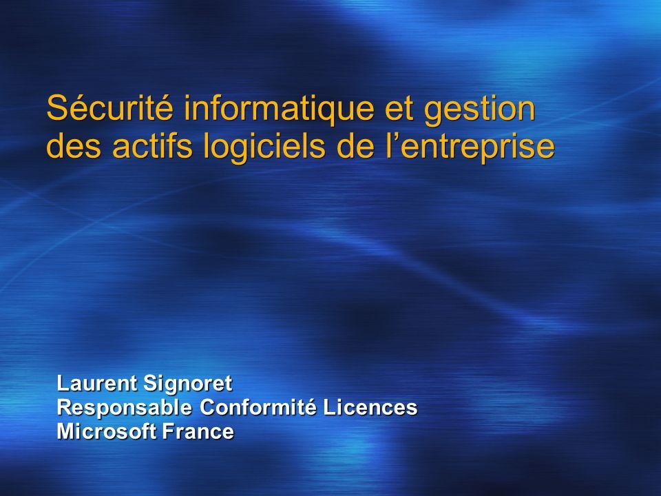 Sécurité informatique et gestion des actifs logiciels de l'entreprise