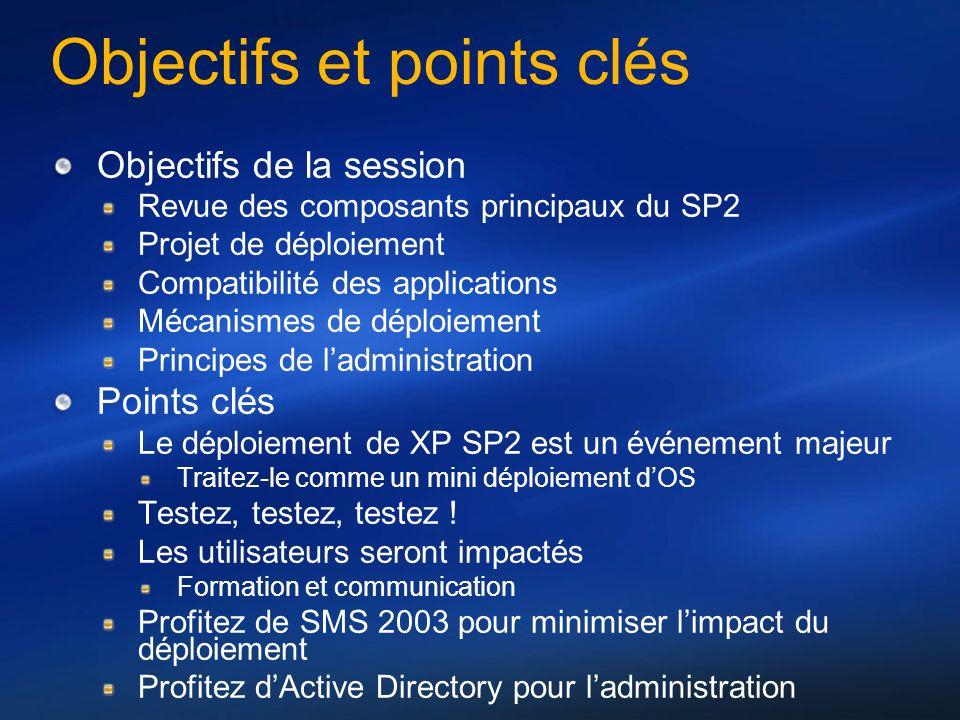 Objectifs et points clés