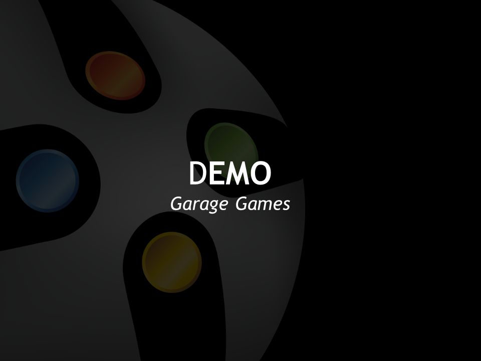 DEMO Garage Games