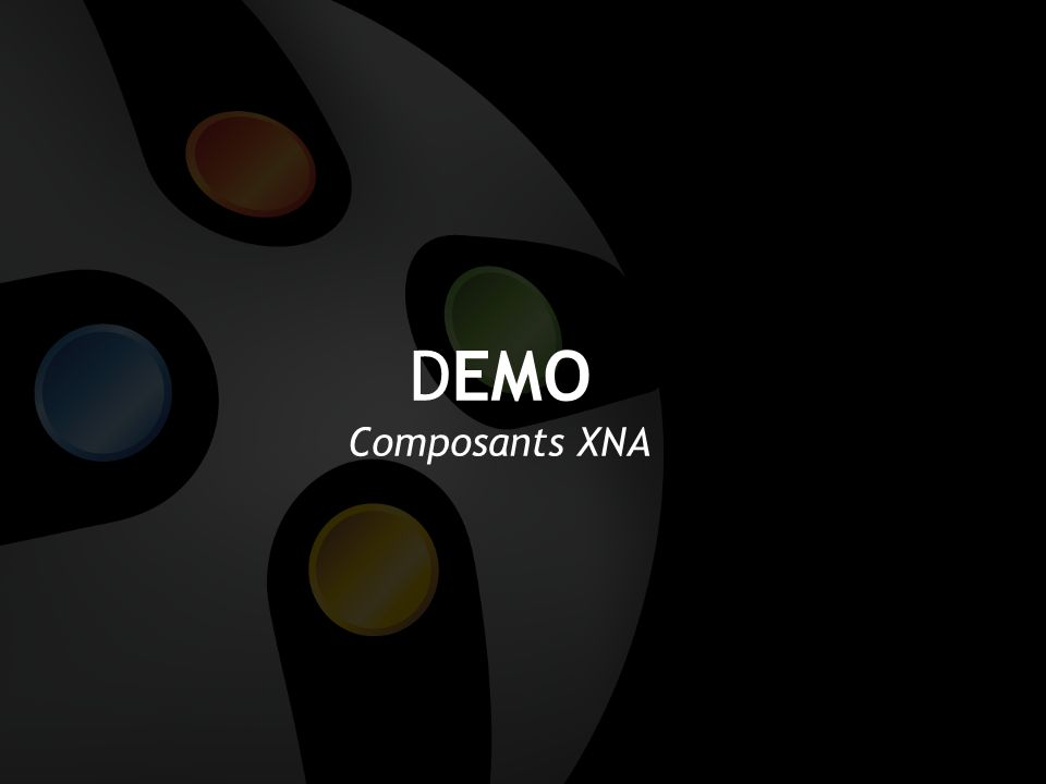 DEMO Composants XNA
