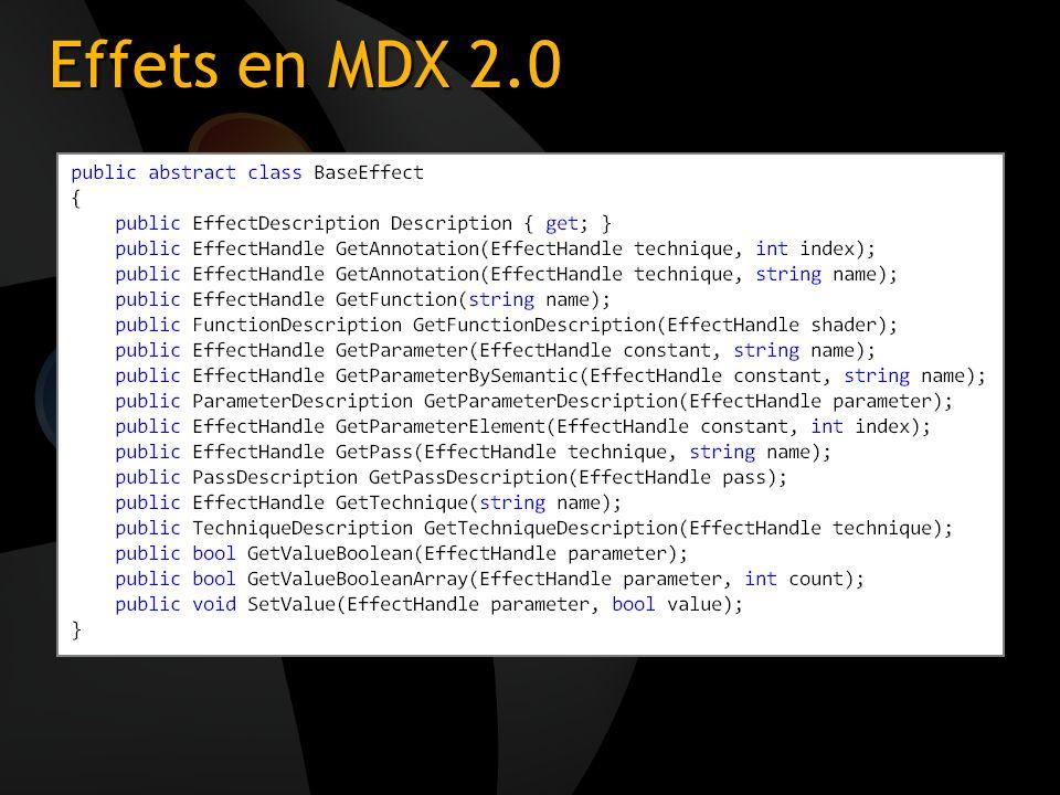 3/26/2017 3:54 PM Effets en MDX 2.0