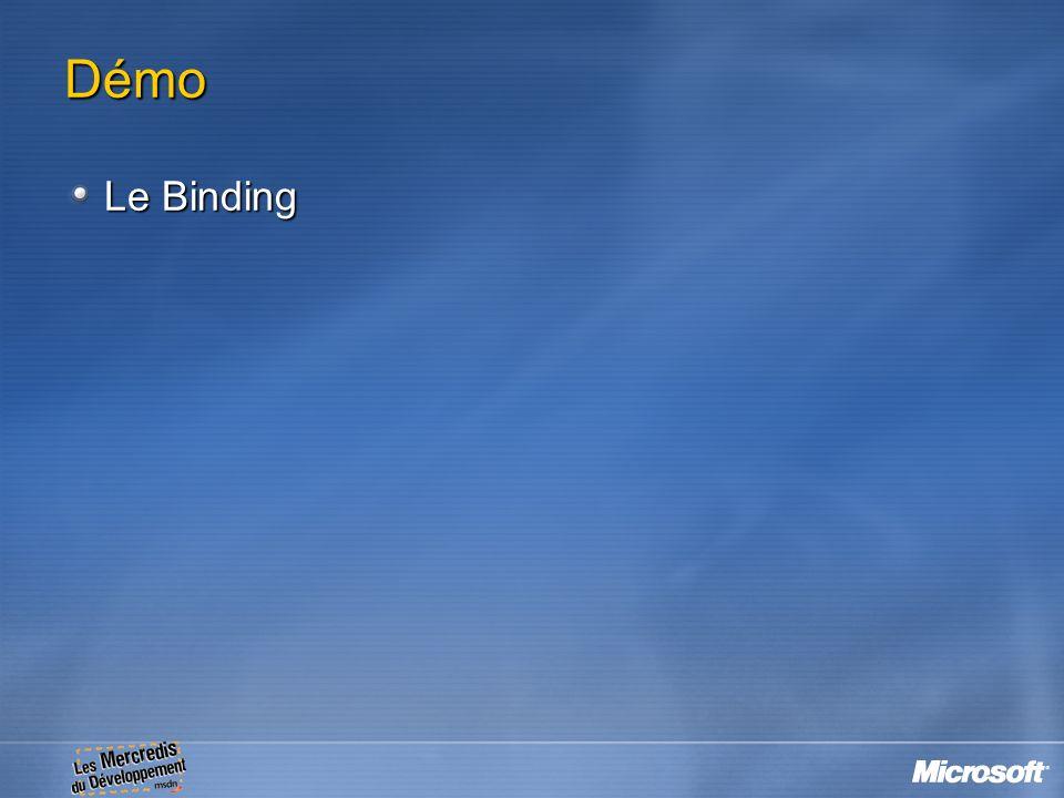 Démo Le Binding 15