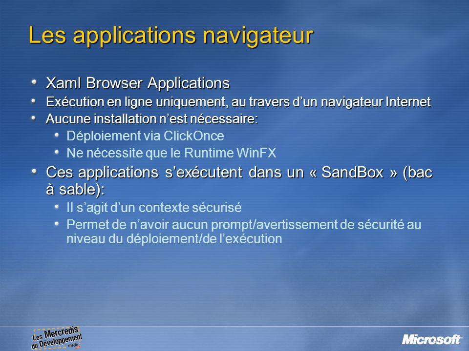 Les applications navigateur