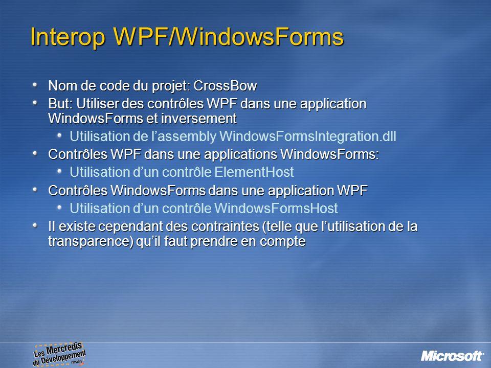 Interop WPF/WindowsForms