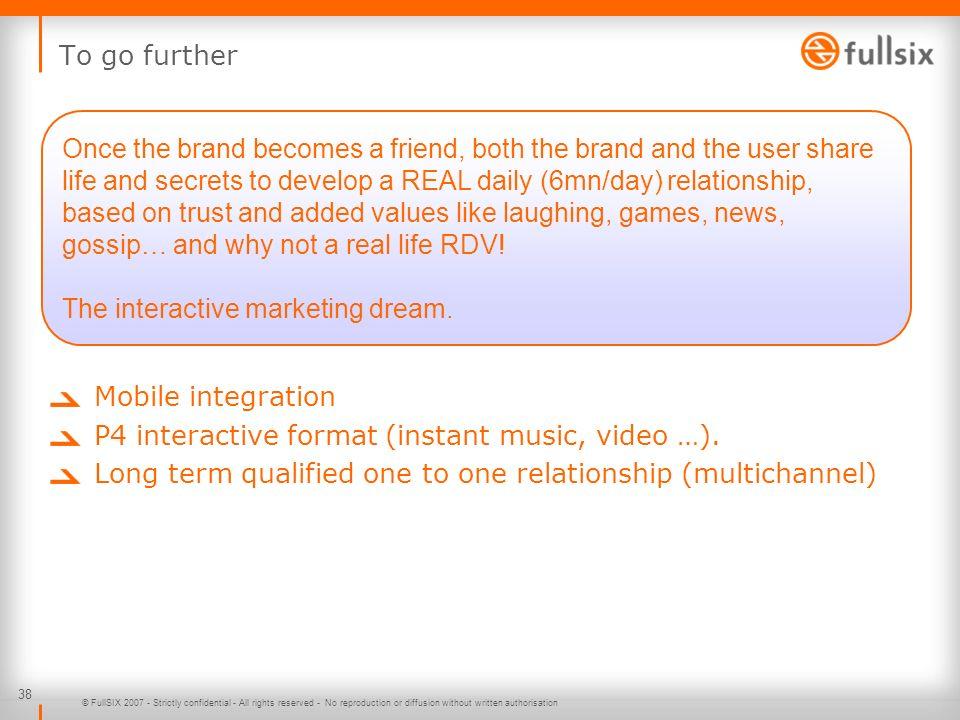 The interactive marketing dream.
