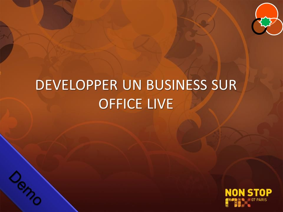 DEVELOPPER UN BUSINESS SUR OFFICE LIVE