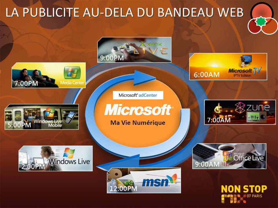 LA PUBLICITE AU-DELA DU BANDEAU WEB