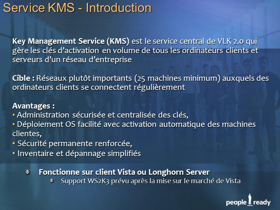 Service KMS - Introduction
