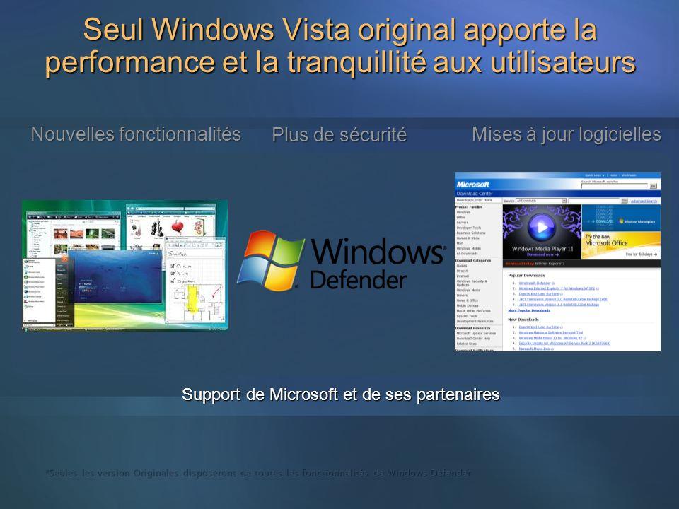 3/26/2017 3:54 PM Seul Windows Vista original apporte la performance et la tranquillité aux utilisateurs.