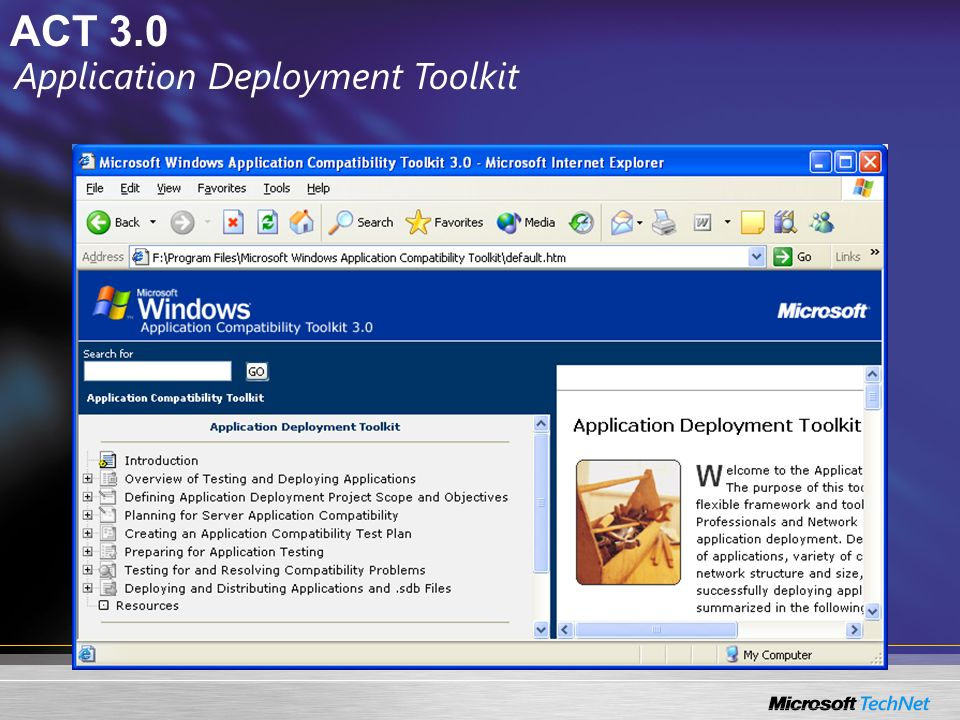 Application Deployment Toolkit
