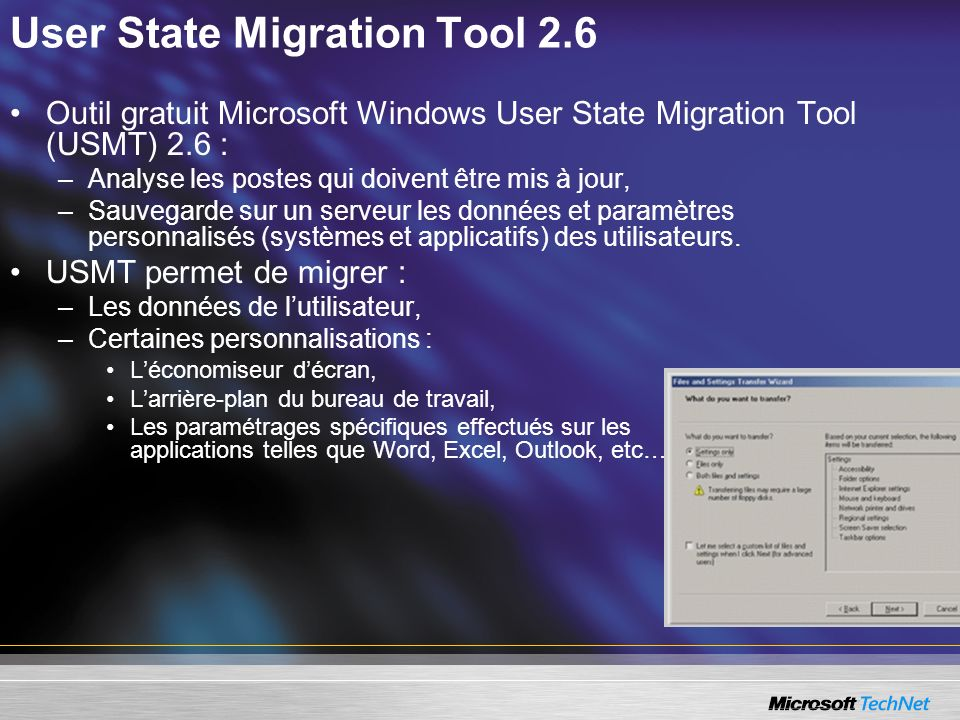 User State Migration Tool 2.6