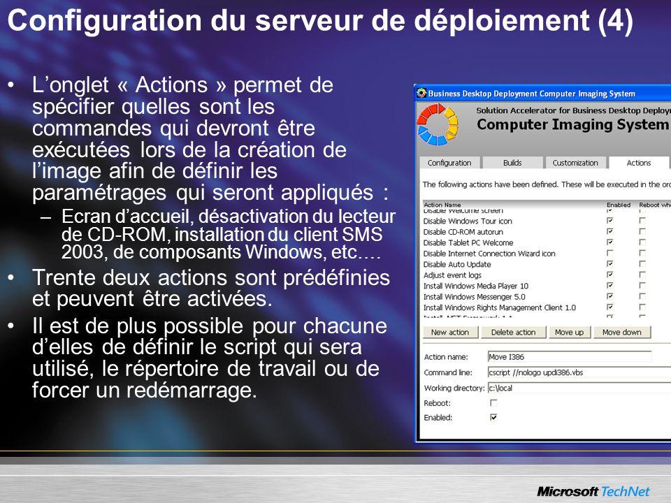 Configuration du serveur de déploiement (4)