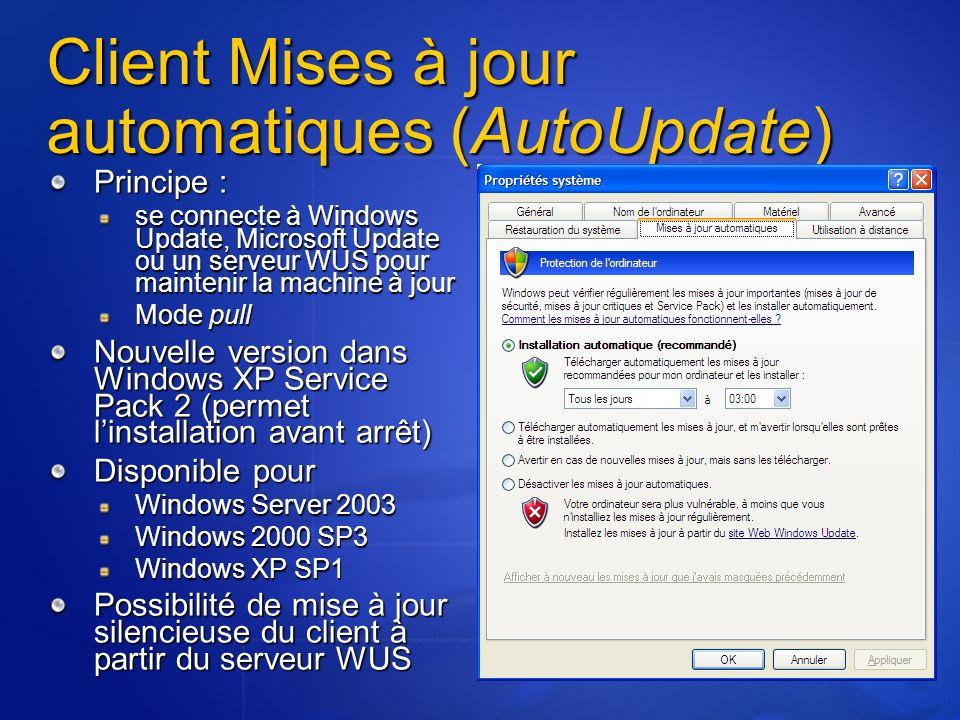 Client Mises à jour automatiques (AutoUpdate)