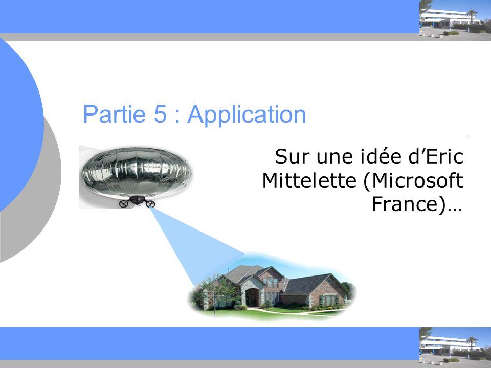 Sur une idée d'Eric Mittelette (Microsoft France)…