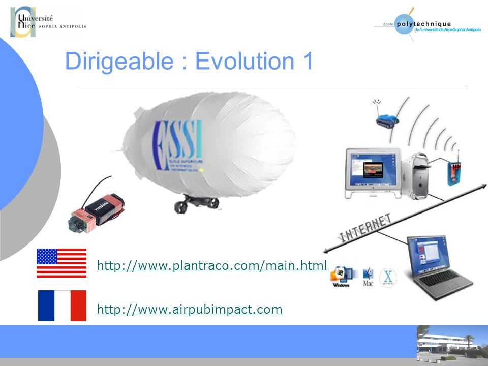 Dirigeable : Evolution 1