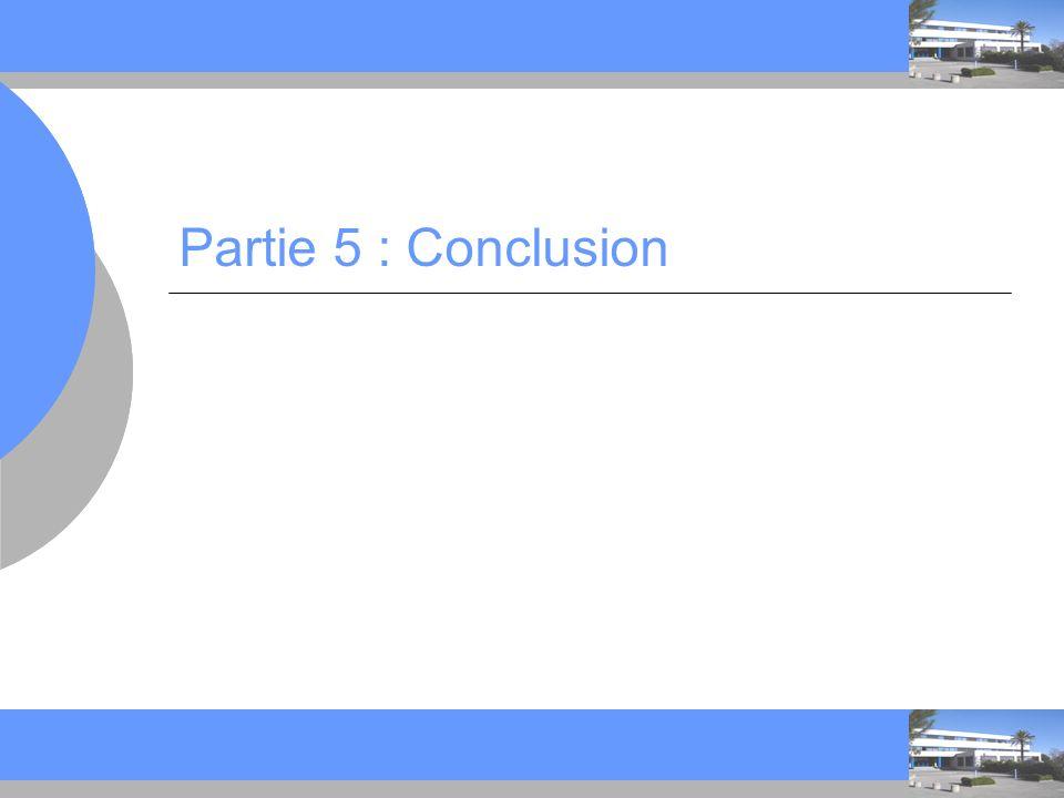 Partie 5 : Conclusion