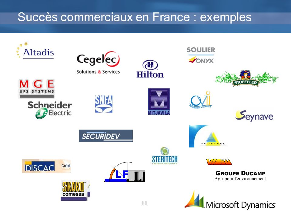 Succès commerciaux en France : exemples