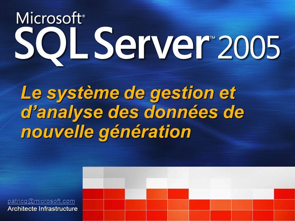 Le système de gestion et d'analyse des données de nouvelle génération