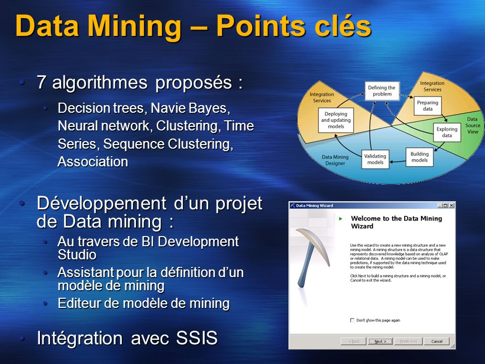 Data Mining – Points clés