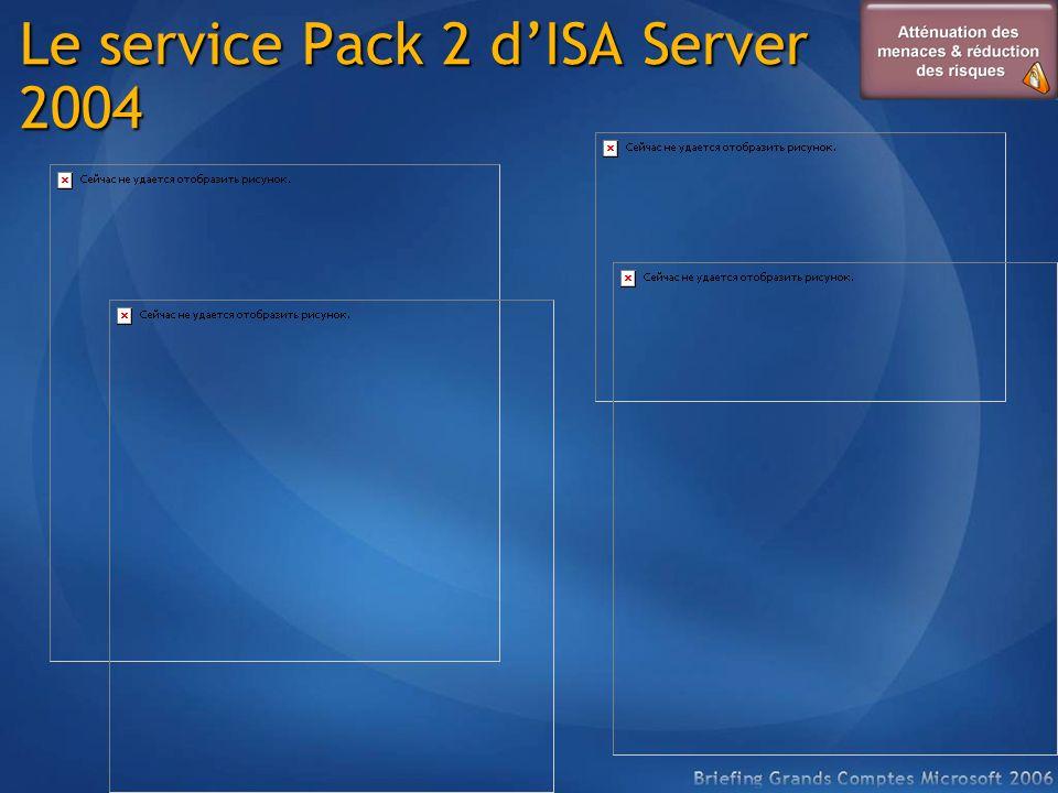 Le service Pack 2 d'ISA Server 2004