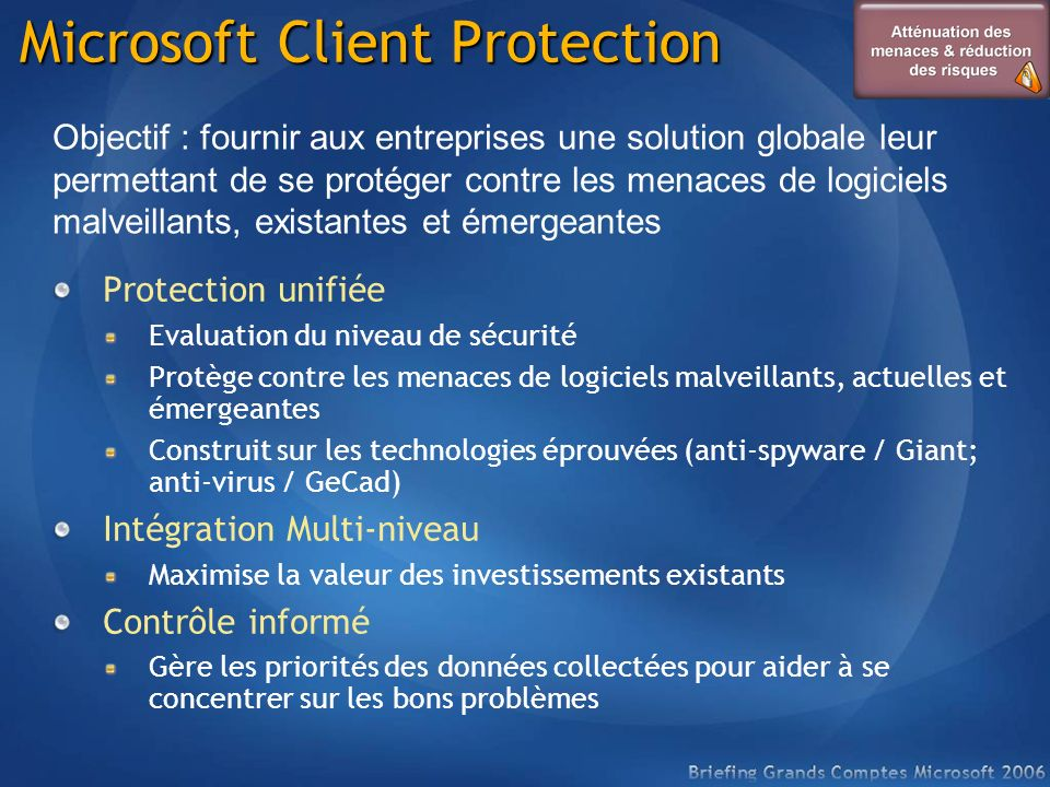 Microsoft Client Protection