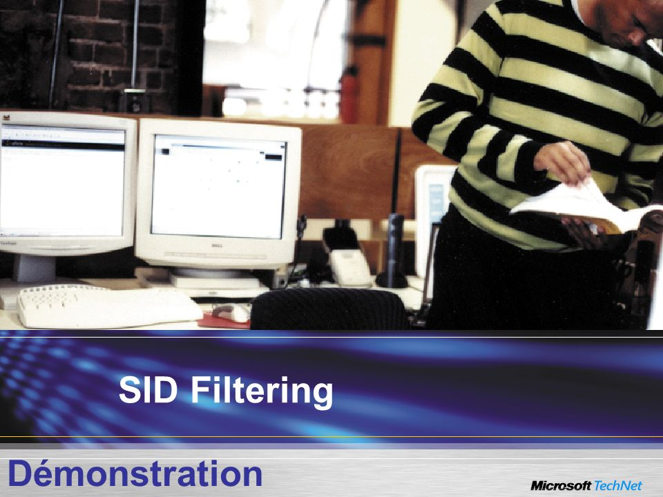 SID Filtering Démonstration