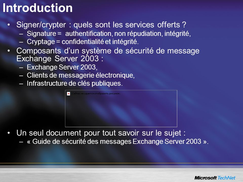 Introduction Signer/crypter : quels sont les services offerts