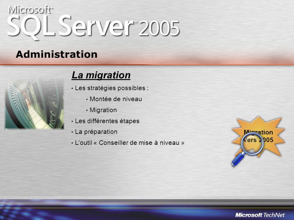 Administration La migration Les stratégies possibles :