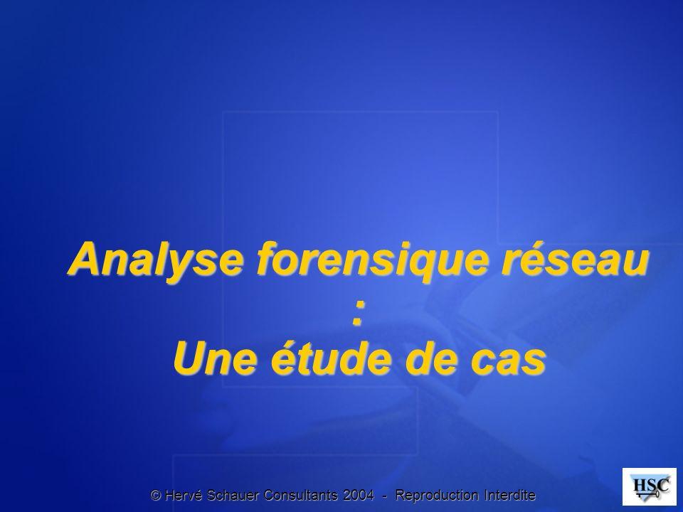 Analyse forensique réseau : Une étude de cas