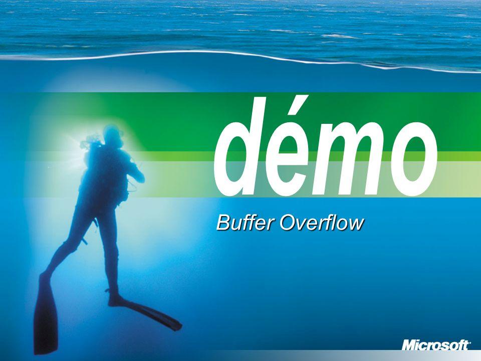 démo Buffer Overflow