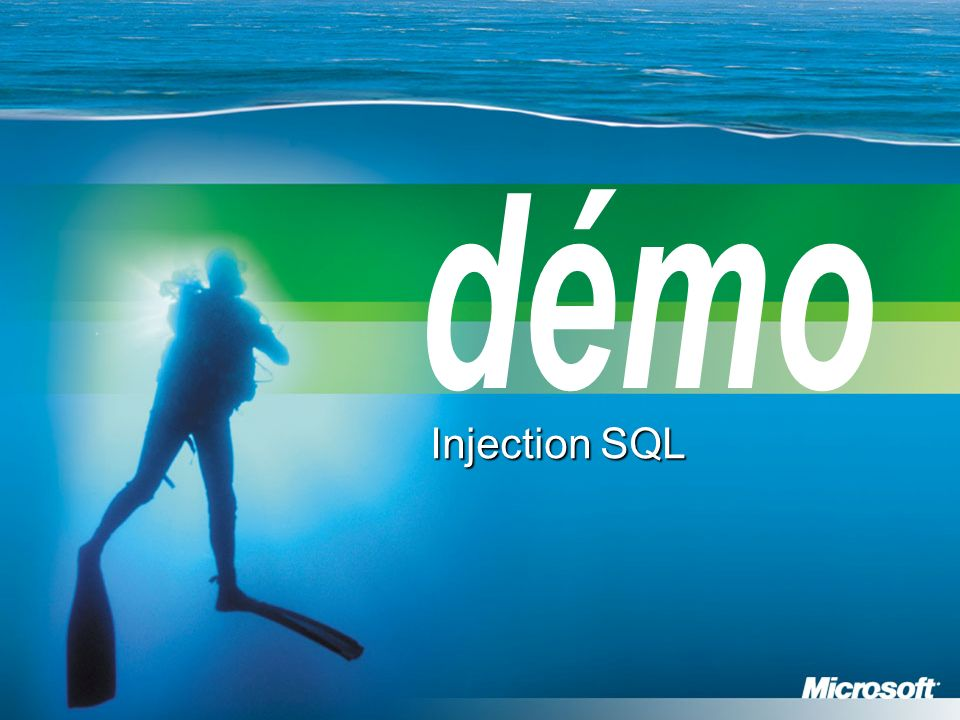 démo Injection SQL