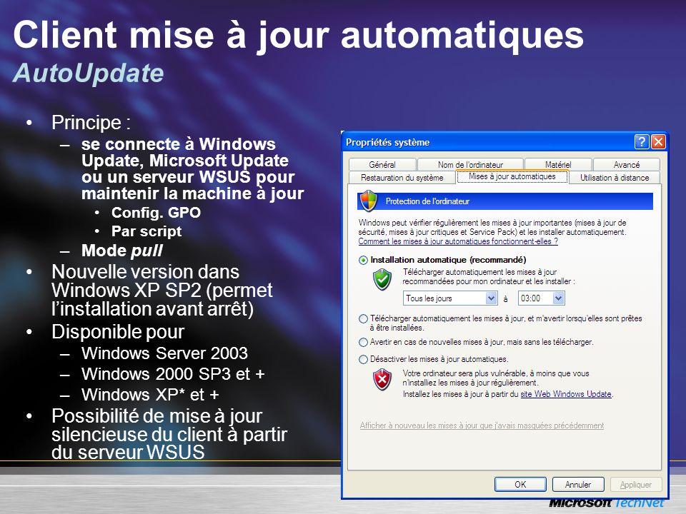 Client mise à jour automatiques AutoUpdate