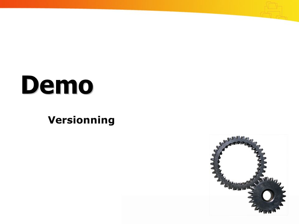 Demo Versionning