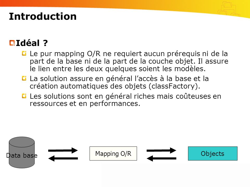 Introduction Idéal