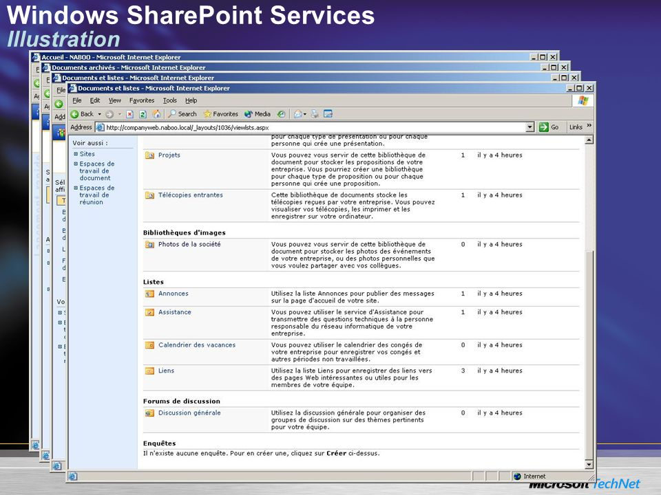 Windows SharePoint Services Illustration