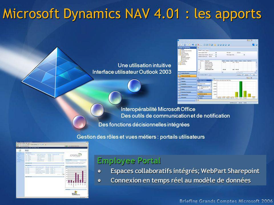 Microsoft Dynamics NAV 4.01 : les apports