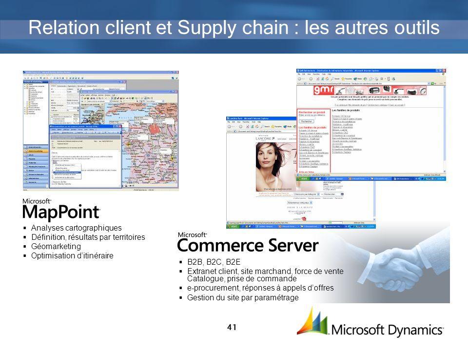 Relation client et Supply chain : les autres outils