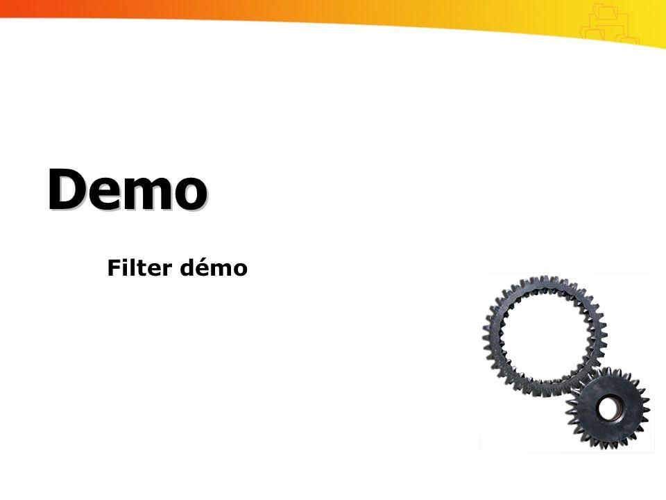 Demo Filter démo