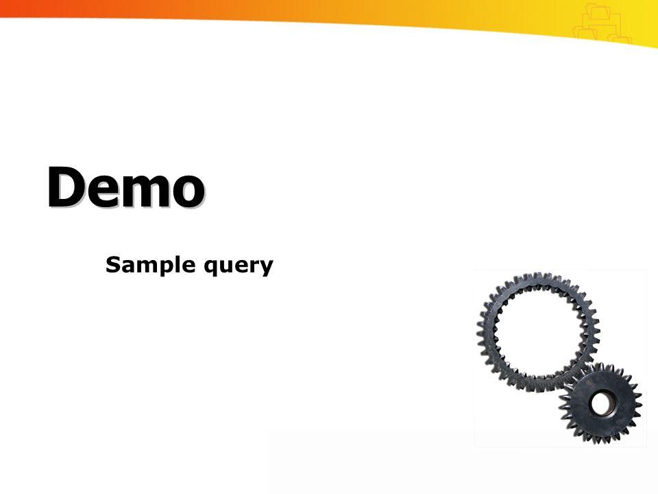 Demo Sample query