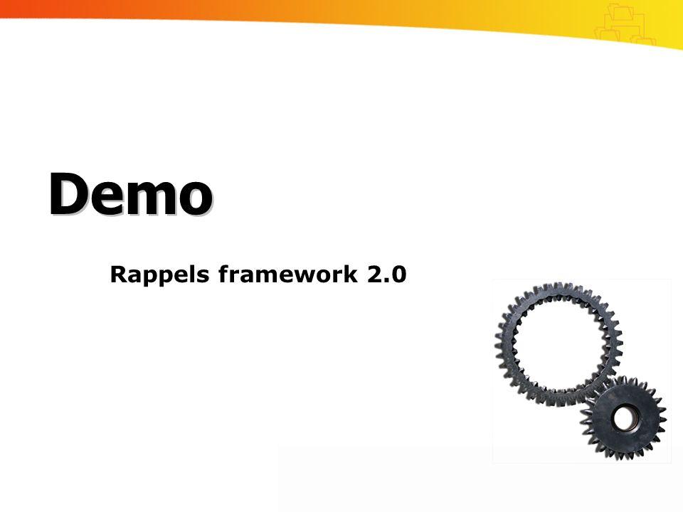 Demo Rappels framework 2.0