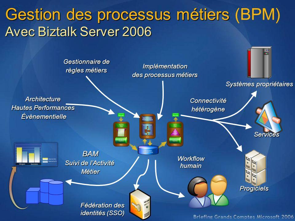 Gestion des processus métiers (BPM)