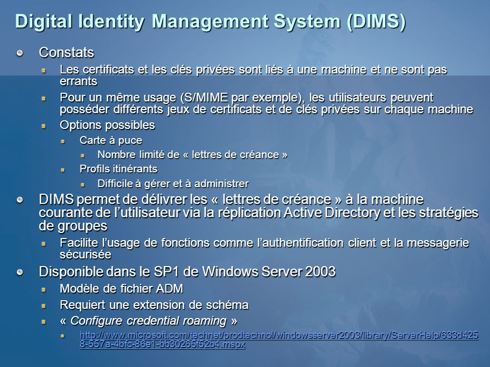 Digital Identity Management System (DIMS)