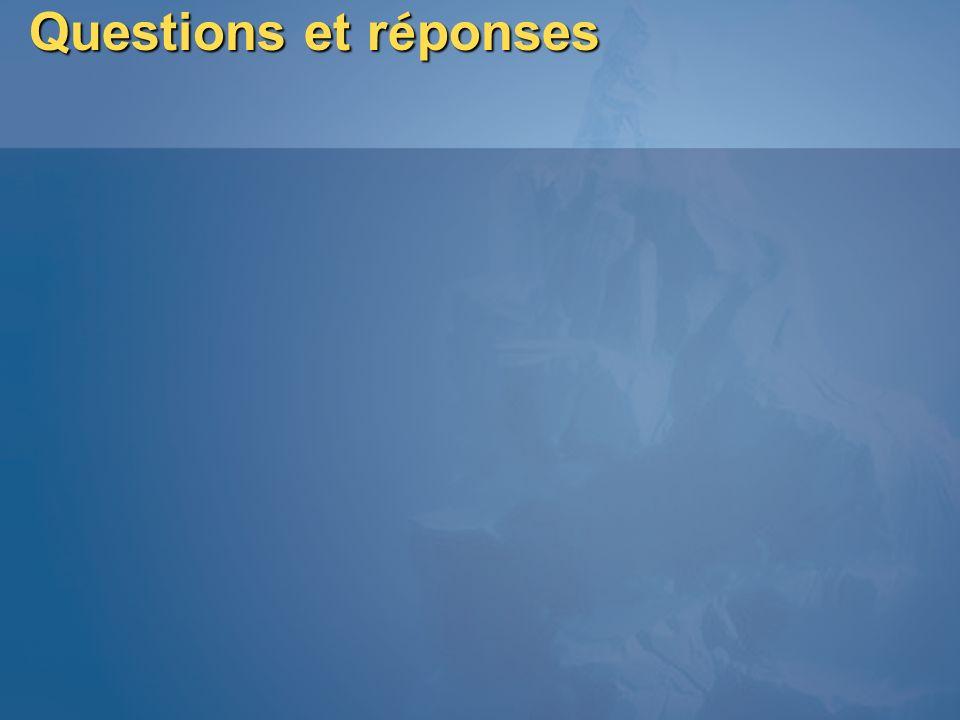Questions et réponses MGB 2003